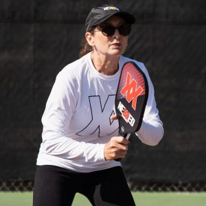 Nexxed pickleball shirt white